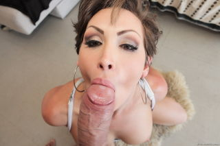 Busty milf Yasmin Scott enjoys a big cock sex