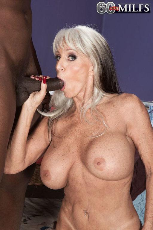 Busty 60 milf Sally DAngelo craving black stiff co