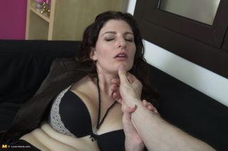 Adorable mom Sabrina Deep fucking in POV style