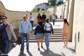 Rossa Nude In Public