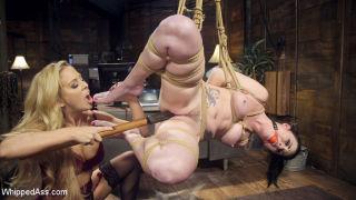 Lezdom Private Eye: Charie Deville spanks, flogs,