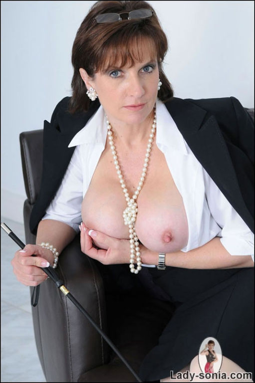 Office english mistress Lady Sonia is your kinky Q