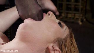 Bella Rossi Breaks in Redhead Lesbian Anal Slave!