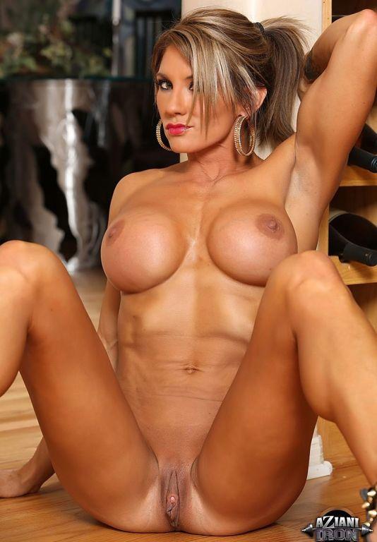 Fitness Goddess Abby Marie sexy striptease