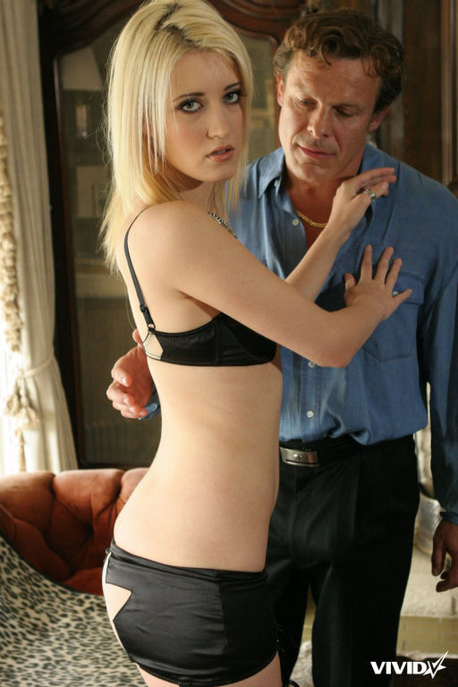 Kimberly Kane seducing a lucky guy