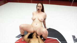 Nikki Darling finger fucked until she cums against