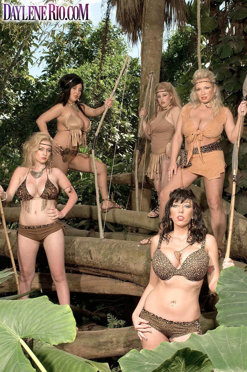 Famos Porno Big Tits Jungle Fuck