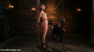 Mona gets a brutal bondage make-over at the hands