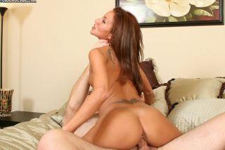 naked Adriana Deville brunette -karup's older women