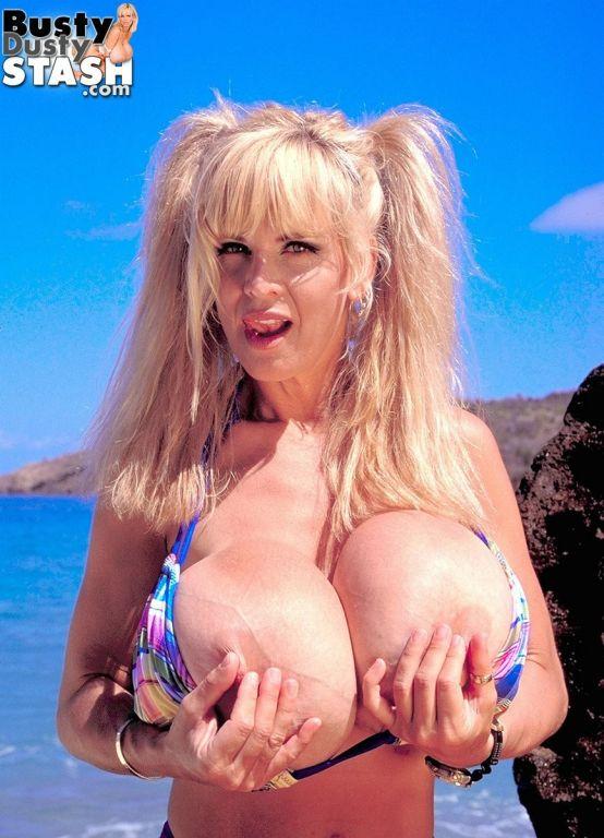 1998 Boob Cruise with bikini blonde Busty Dusty