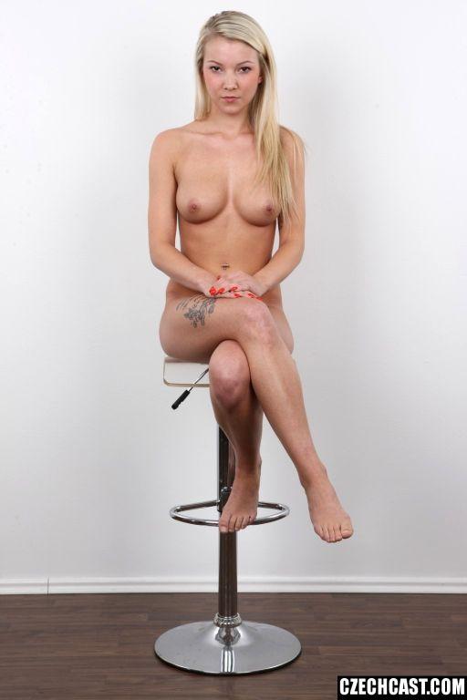 Average Panties Episode! Blonde Czech girl Nikola