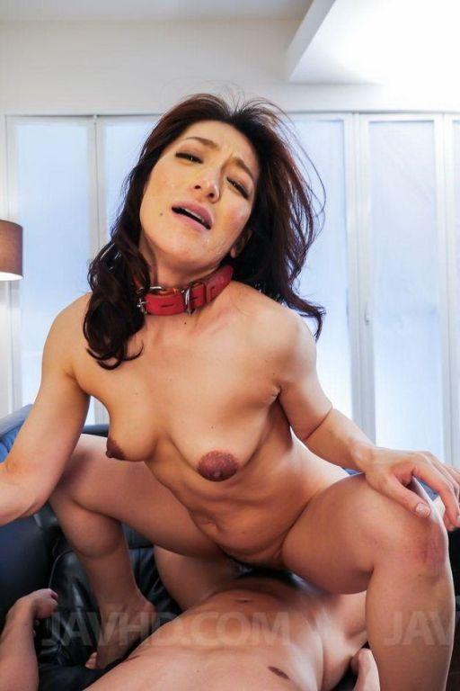 Asian Marina Matsumoto in a threesome anal fucking