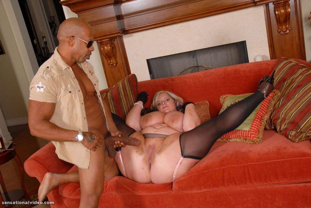 Blonde BBW Maid Serves Shane Diesel