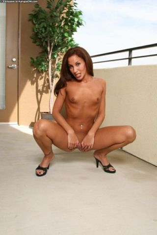 naked Adriana Deville european -karup's older women