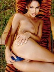 Latina milf Jennifer Lopez double penetrated in ce