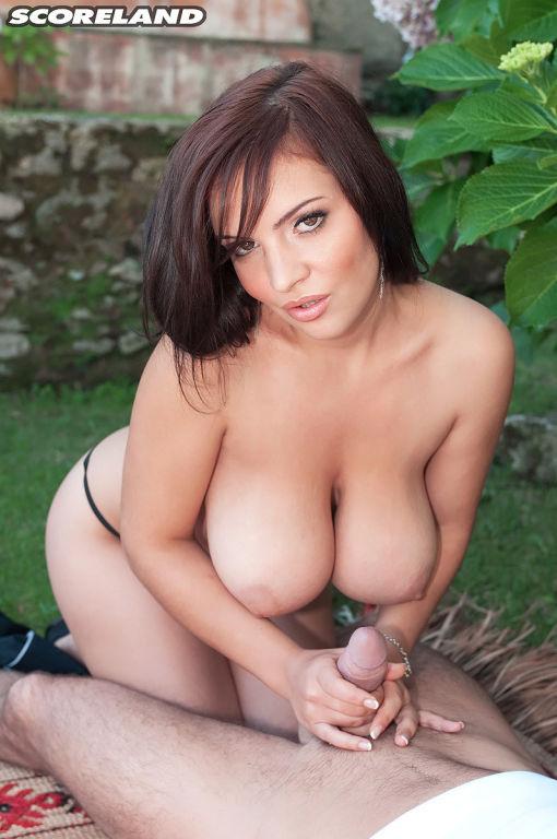 Between Her Big Tits