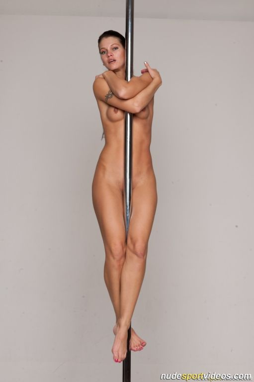 Amazing pole gymnastics