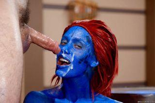 Cosplay Xmen Porn with redhead pornstar Nicole Ani