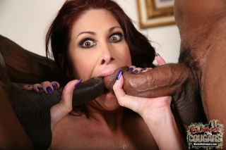 Milf Tiffany Mynx in interracial mmf hardcore fuck