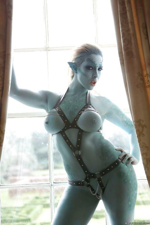 Fantastic cosplay with big tits pornstar Victoria