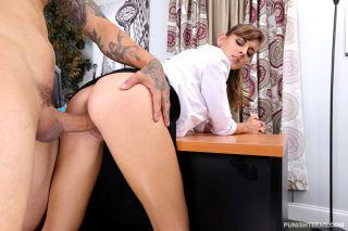 Dakota Vixin Testing Out The New Secretary cumslut