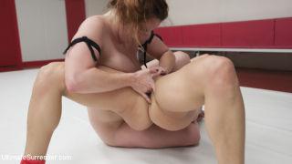Big Round Latina Ass vs. Big Red Head Tits