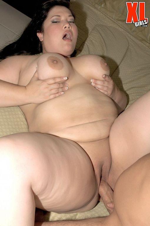 Fat asian fucked in hardcore porn