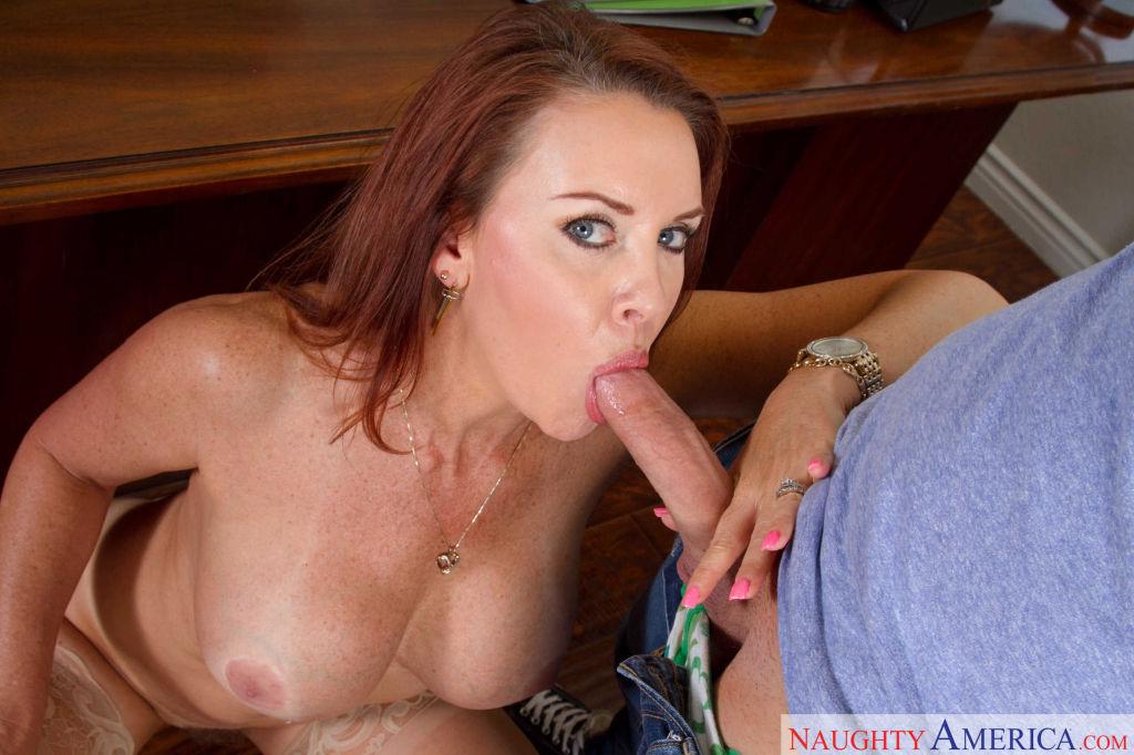 Sexy MILF teacher Janet Mason gets fucked