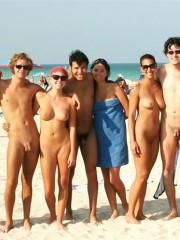 Public beach sex scenes