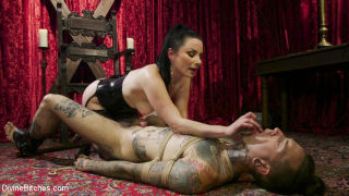 Disobedient Masturbating Slave Punished and Fucked