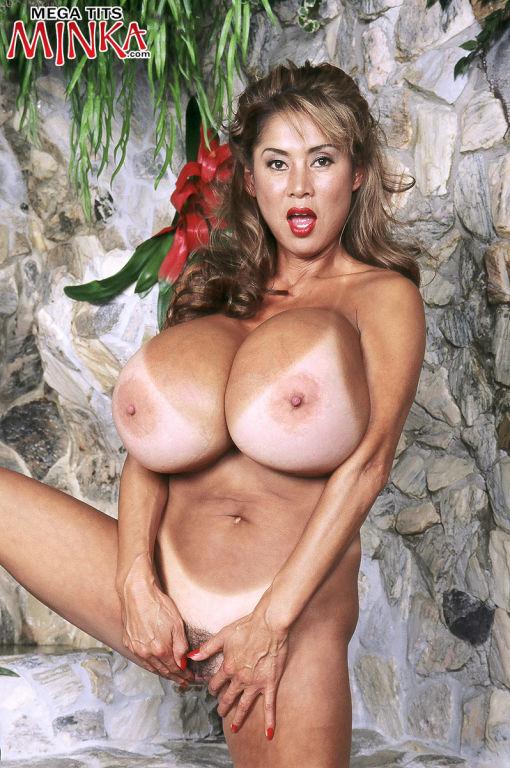Jungle asian girl with huge boobs Minka