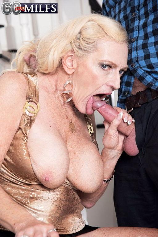 Granny slut is ready for a hard cock