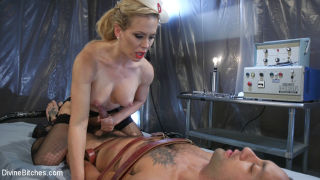 Sexy and sadistic Cherie DeVille steps in as DJ's