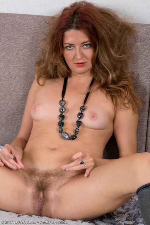 Hairy hottie Helen Volga