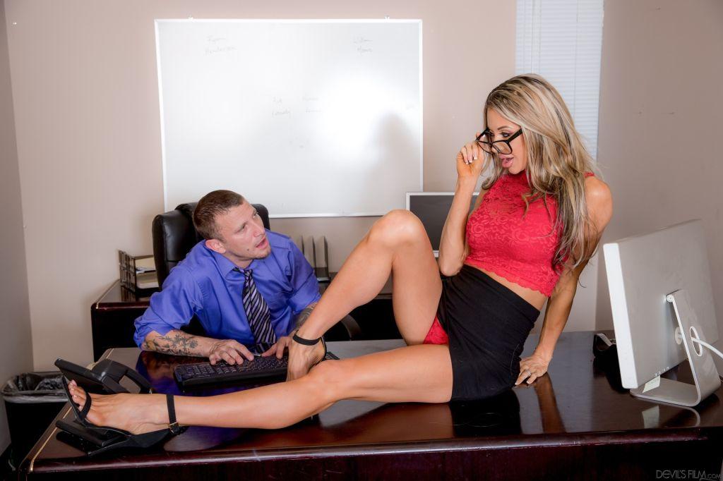 Big Tits Office Chicks #04, Scene #01