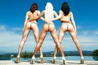 Glamour MILFs Chanel Preston Jasmine Jae and Nina