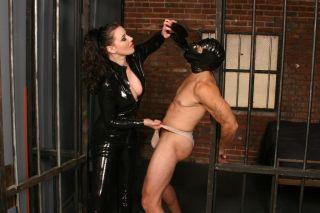 Domme Anastasia Bound Slave