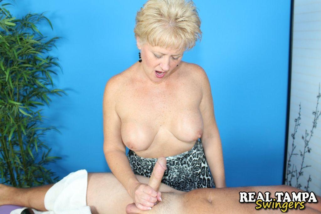 Tracy Lick Handjob