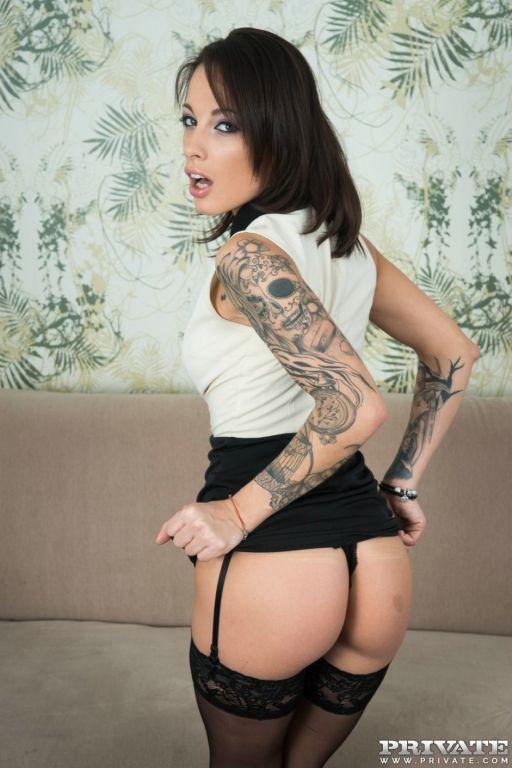 French slut Nikita Bellucci gets an anal creampie