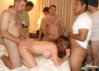 naked gangbangs blowjobs