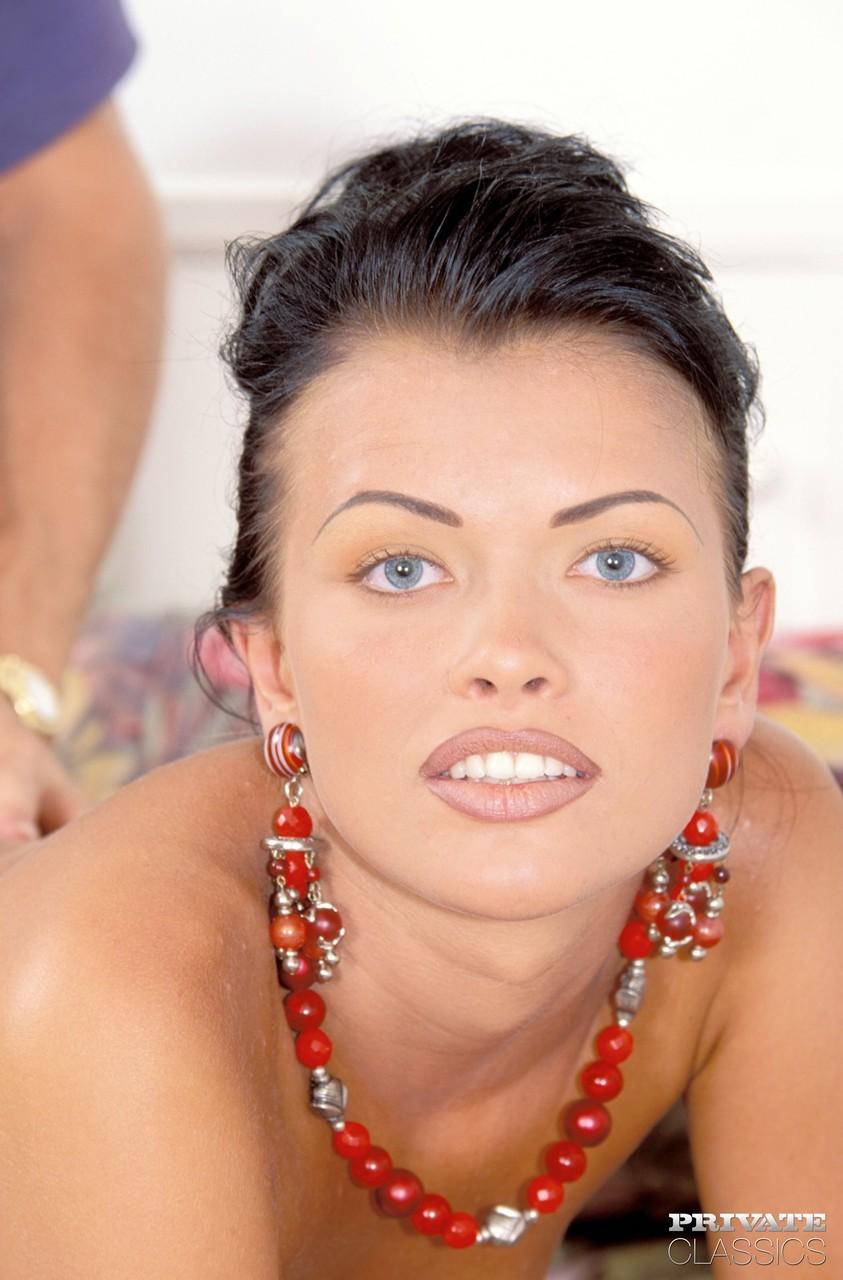 Latvian brunette Tania Russof reenacts classic anal sex ...
