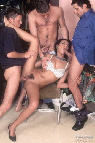 sex Olivia Del Rio classic group sex