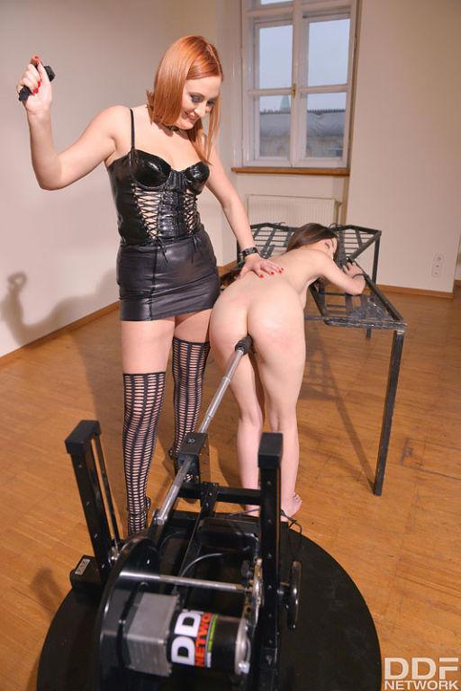 BDSM Newbie Humiliated: Spitting, Spanking, Penetr