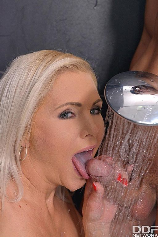 Horny Milf Sucks Boy's Cock