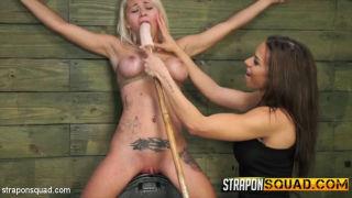 Marsha May Endures Lesbian Rope Bondage with Kylie