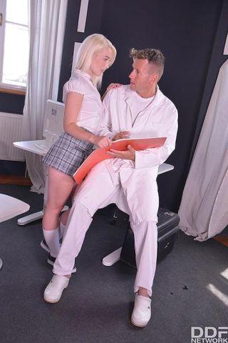 sexy Lovita Fate erotic schoolgirl