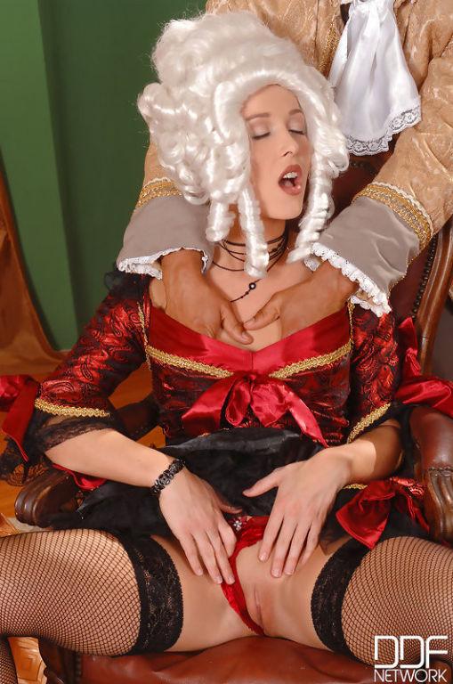 Renaissance in her rectum!