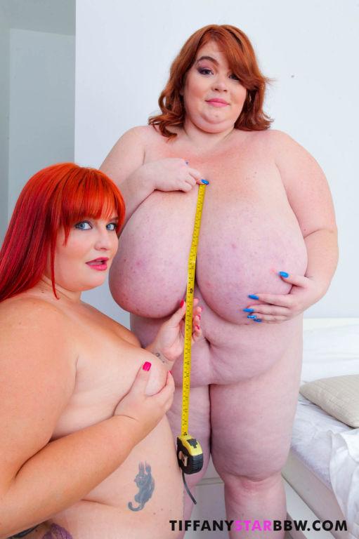 Sexy BBWS Measuring Each Other