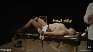 Sicilia arrives at her doctors office for pain tol