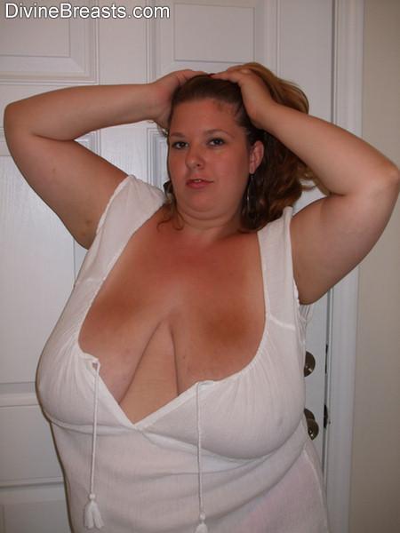 Naked big bbw tits